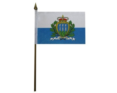 San Marino Nationalfahne Nr. 2822