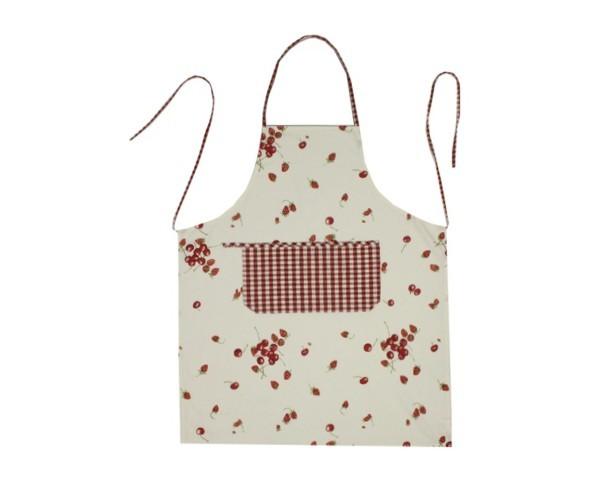 Schürze Serie Kirsche-Erdbeeren Nr. 3050