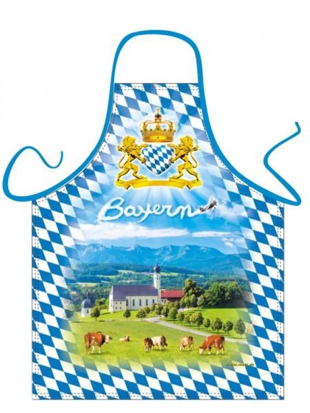 Bayerisches Voralpenland Schürze Nr. 3663