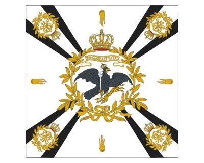 Standarte, weiß mit Kreuz (Preußen) Nr. 3094
