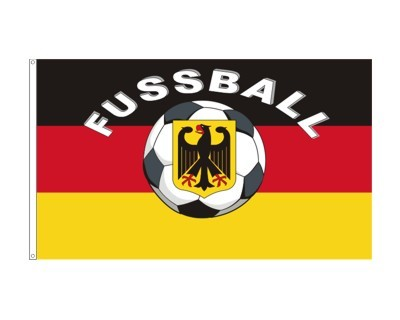 Deutschland Fußball Flagge Fahne 90 x 150 cm mit 2 Ösen Nr. 451
