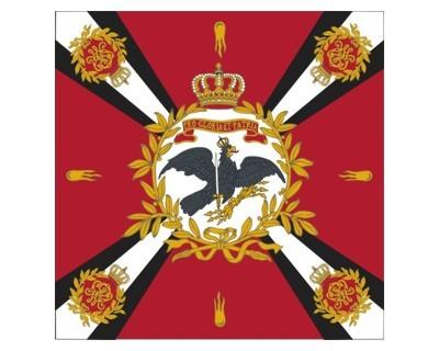 Standarte, rot mit Kreuz (Preußen) Nr. 3092