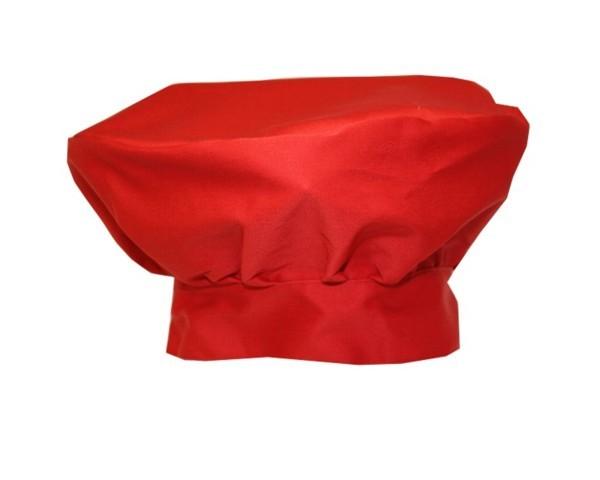 Französische Kochmütze Farbe Rot Nr. 3104