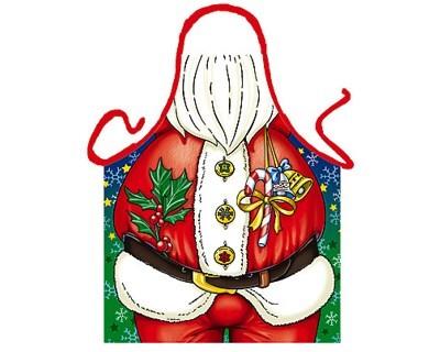 Schürze Weihnachtsmann Nr. 2481