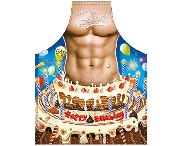 Schürze Happy Birthday Mann Nr. 3281