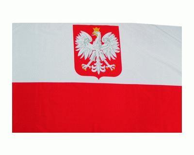 Polen mit Adler, Nationalfahne Nr. 2182