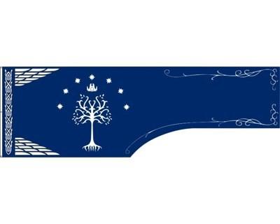 Herr der Ringe Aragorn Flagge 60 x 185 cm Nr 3013