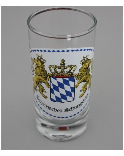 Bayerisches Schutzgebiet Schnapsstamper mit Aufdruck Art. N. 3507