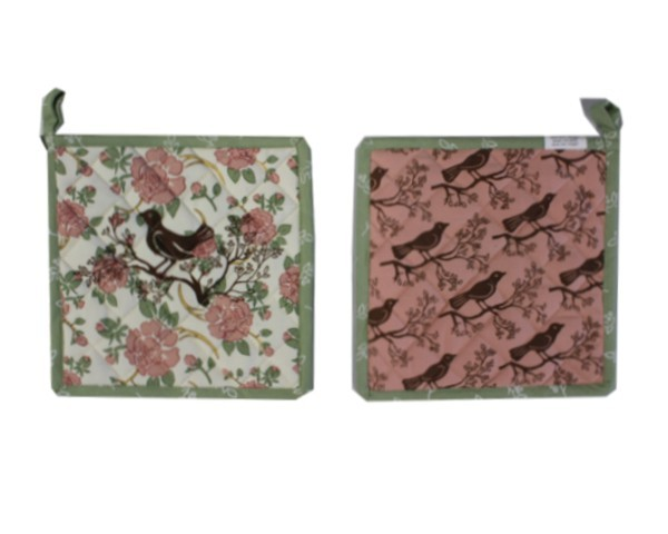 Topflappen Serie Gartenvögel Nr. 3051D