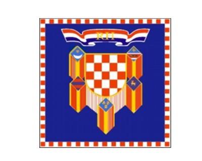 Kroatien Präsidenten Standarte Nr. 3096