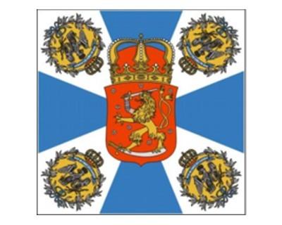 Standarte Preussen Fahne des Finnischen Jäger-Bataillons Nr.1946