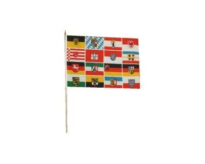Deutschland mit 16 Bundesländer Wappen 30 x 46 cm Nr. 613