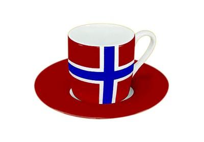 Norwegen Espresso Set Nr. 1519