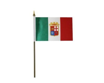 Italien mit Wappen (Gösch) Nr. 2919
