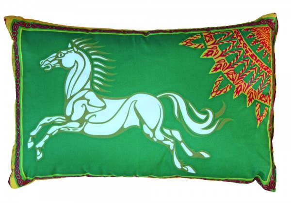 Herr der Ringe Rohan Kissen Grün Nr. 3172