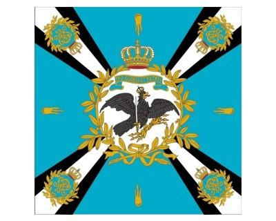 Standarte, blau mit Kreuz (Preußen) Nr. 2341