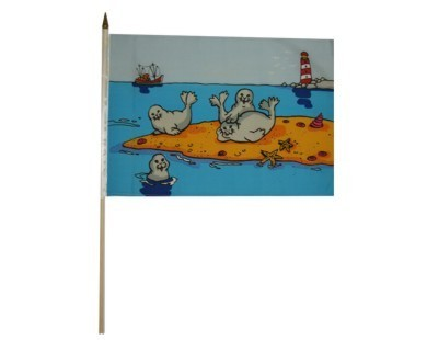 Seehunde auf Sandbank Nr. 2712