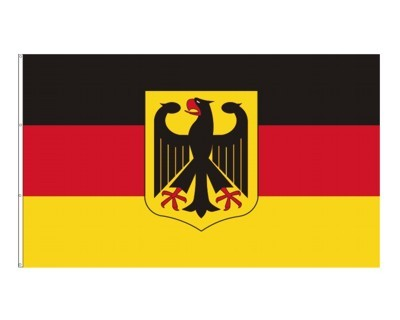 Deutschland mit Wappen 150 x 250 cm Nr. 2386