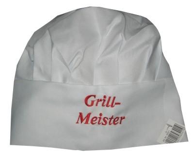 Kochmütze Grill-Meister Nr.2889