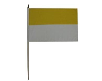 Gelb-Weiß Stockflagge Nr. 2408