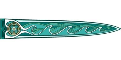 Herr der Ringe Legolas Banner 45 x 269 cm Nr. 3008