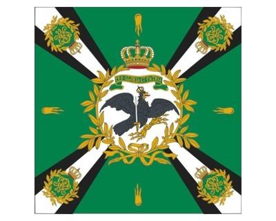 Standarte, grün mit Kreuz (Preußen) Nr. 3093