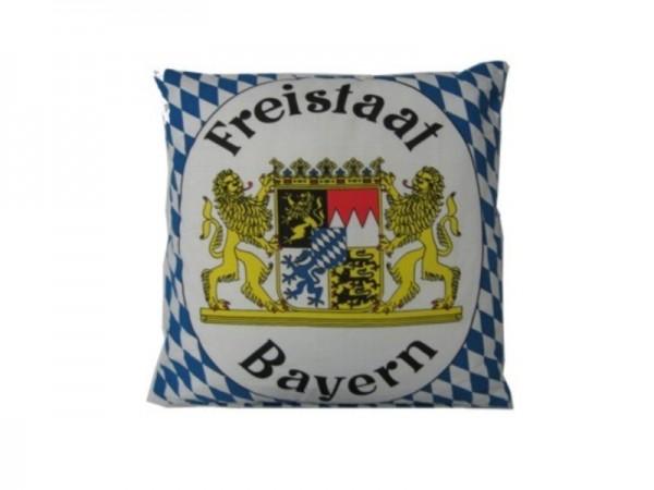 Kissen, Raute mit Wappen und Füllung Nr. 2696
