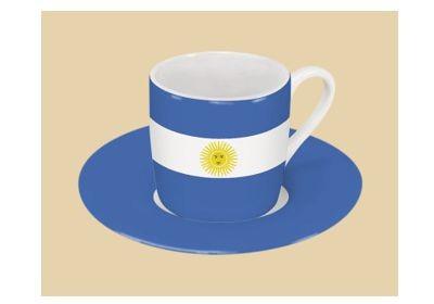 Argentinien Espresso Set Nr. 1535