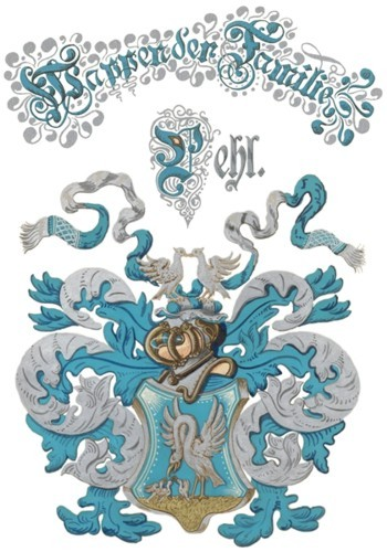 Familie Pehl Wappen Nr. 2636