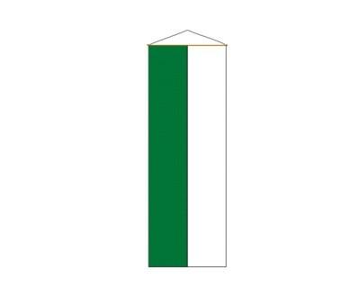 Bannerfahne grün-weiß Nr. 2900