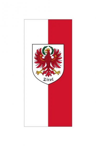 Tirol Banner mit Wappen 90 x 200 cm Nr. 1270