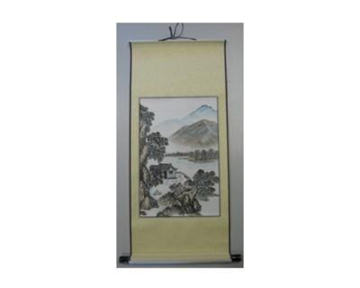 Feng Suhi Rollbildfahne Landschaft Nr. 62092