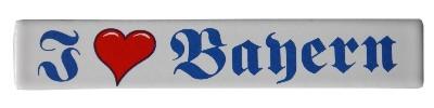 Magnet I like Bayern Emaille Nr. 1663