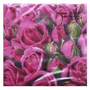 Servietten Roses 33 x 33 cm Nr. 3531