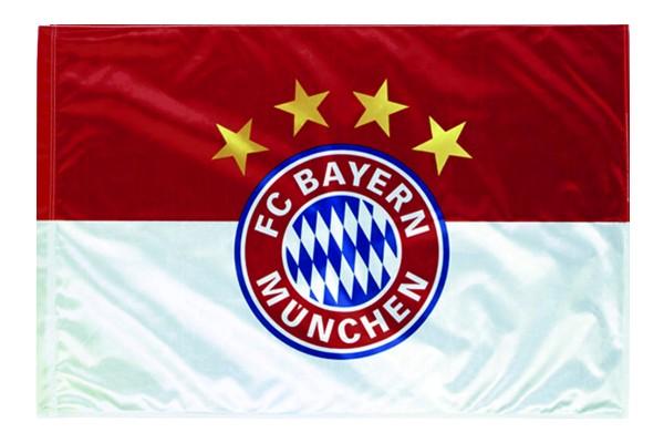 FC Bayern Flagge Schwenkfahne Originalware Fahne Motiv Logo 60 x 90 cm Nr. 828B