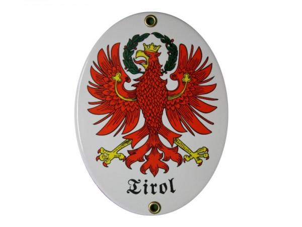 Tirol Emaille Schild Nr. 1272