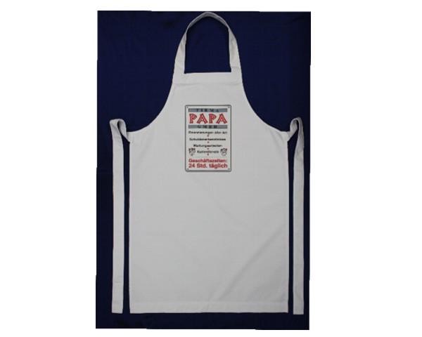 Schürze Firma - Papa GmbH Nr. 3205