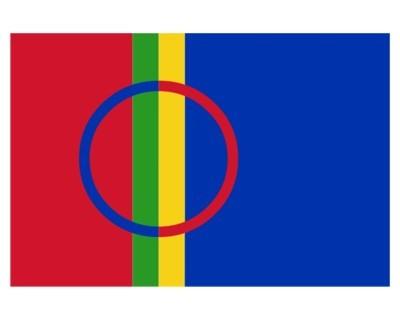 Samen (Lappen) Nationalfahne Nr. 2289