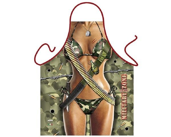 Schürze Military Zone Frau Nr. 3117