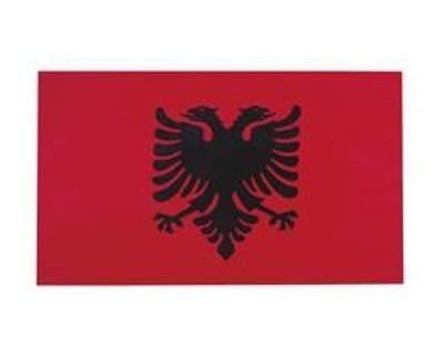 Albanien Fahne 90 x 150 cm Nr. 104