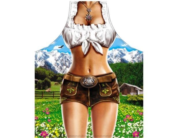 Schürze Alpen Model Frau Nr. 3284