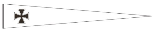 Wimpel Eisernes Kreuz 50 x 290 cm Nr. 1245