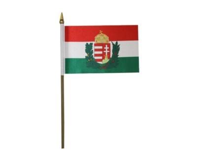 Ungarn mit Wappen Fahne 90 x 150 cm Nr. 234