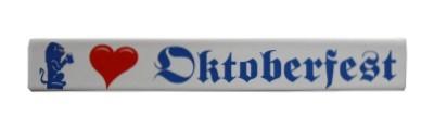 Magnet I like Oktoberfest Emaille Nr. 1661