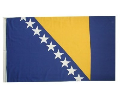 Bosnien-Herzegowina (neu seit 1998) Nationalfahne Nr. 2204