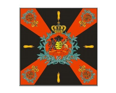 Standarte Muster für Inf. Regimenter Württemberg1872 Nr. 1941