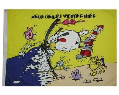 Mega geiles Wetter/Schaf Nr. 2195