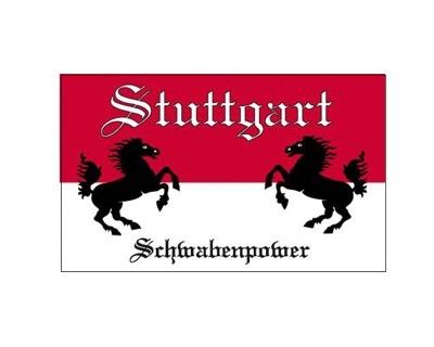 Fan - Flagge Stuttgart Schwabenpower Nr. 2724