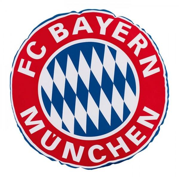 FC Bayern Fan Rund Kissen Rekordmeister Nr. 1833