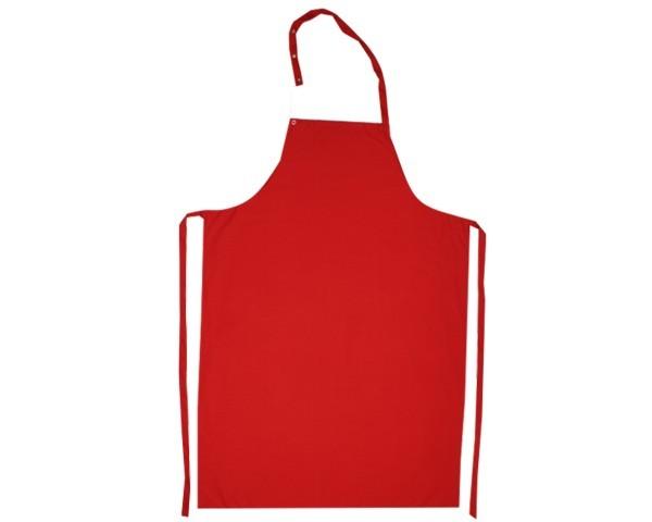 Latzschürze 110 x 77 cm Farbe Rot Nr. 3102